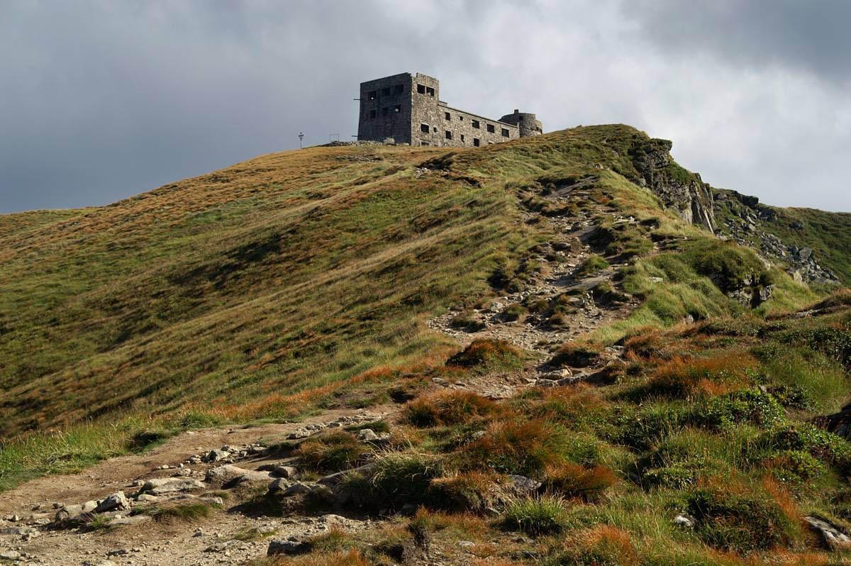 гора Поп Иван Черногорский в Карпатах