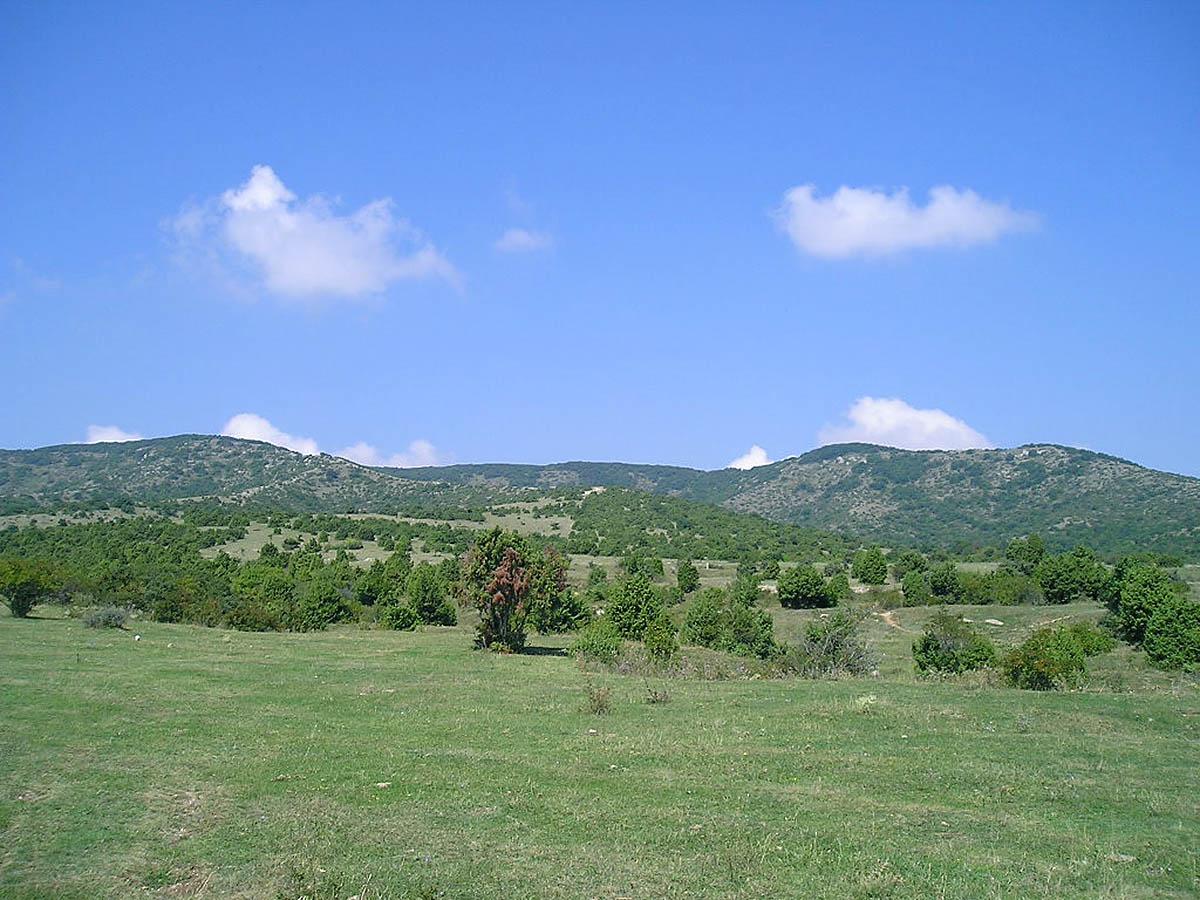 горный массив Агармыш, Судак, Крым