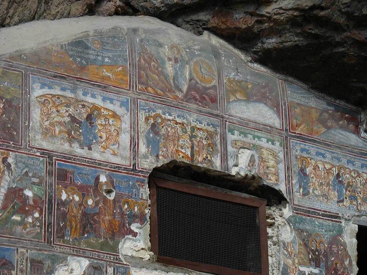 интерьер монастыря Сумела Панагия