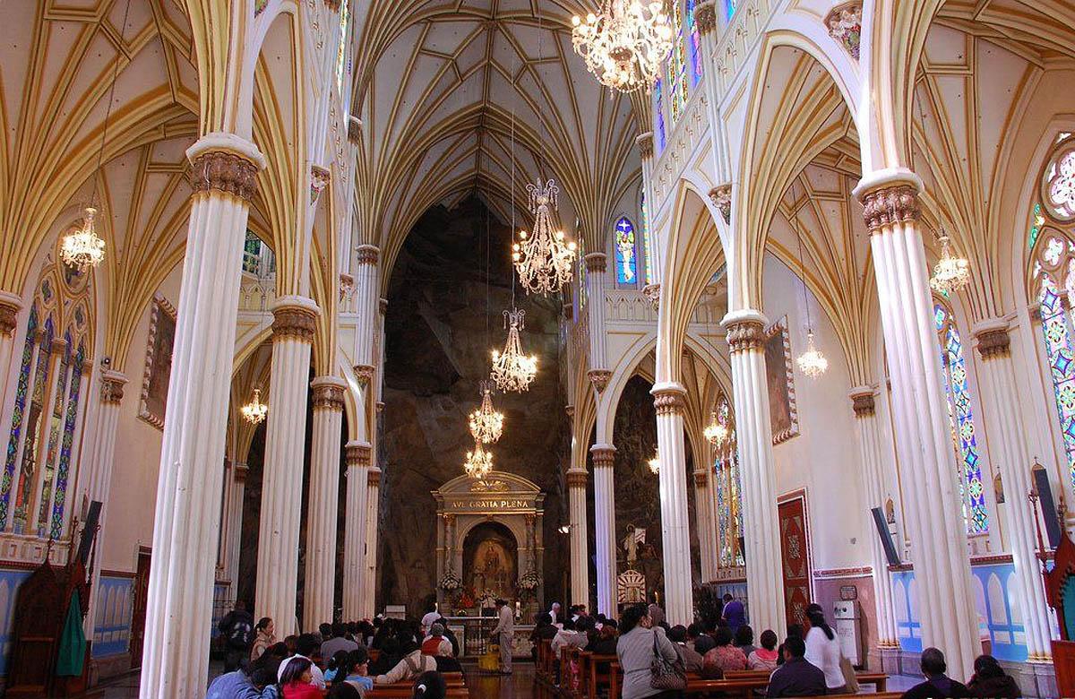 интерьер собора Лас-Лахас