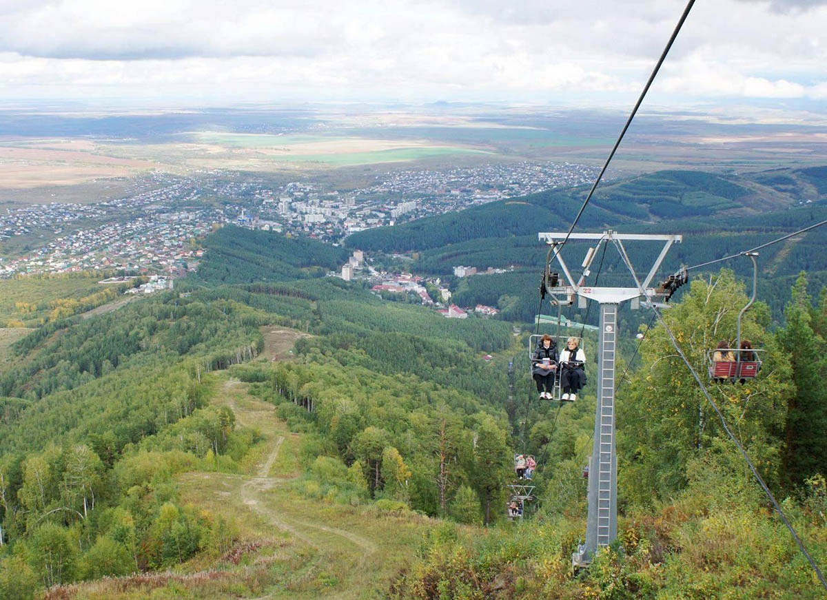 канатная дорога на гору Церковка
