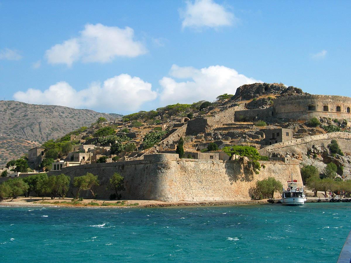 крепость на острове Спиналонга, Греция