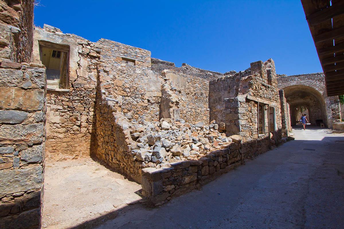 крепость острова Спиналонга, Греция