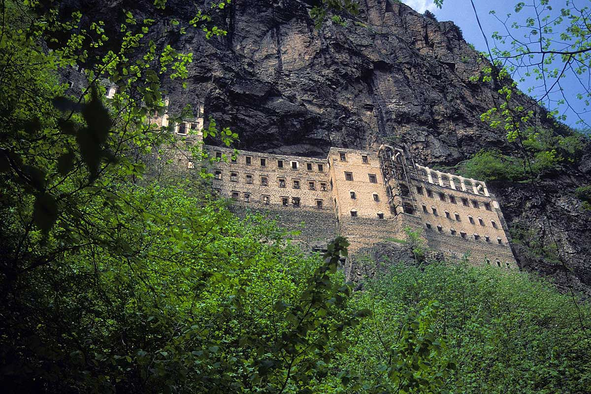 монастырь Сумела Панагия, Трабзон, Турция
