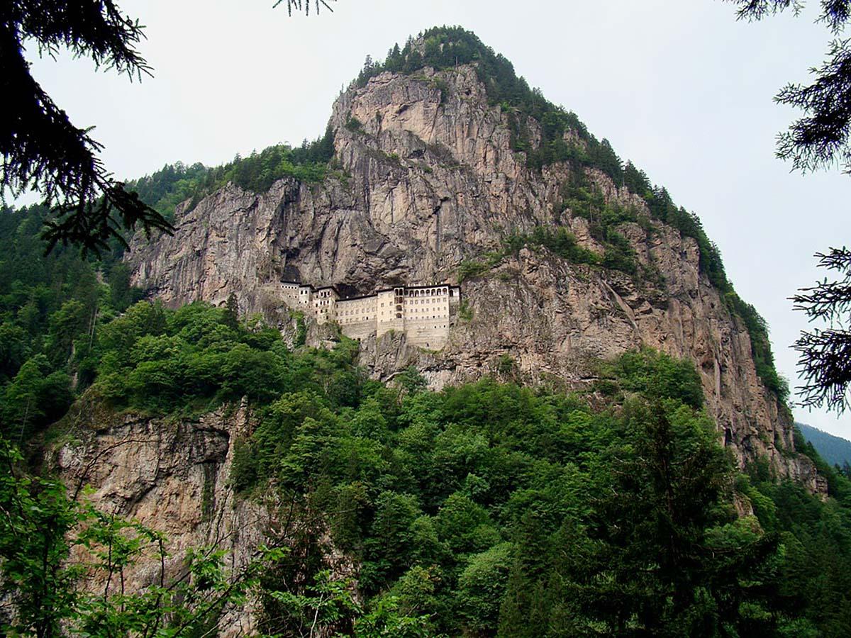 монастырь Сумела Панагия, Турция