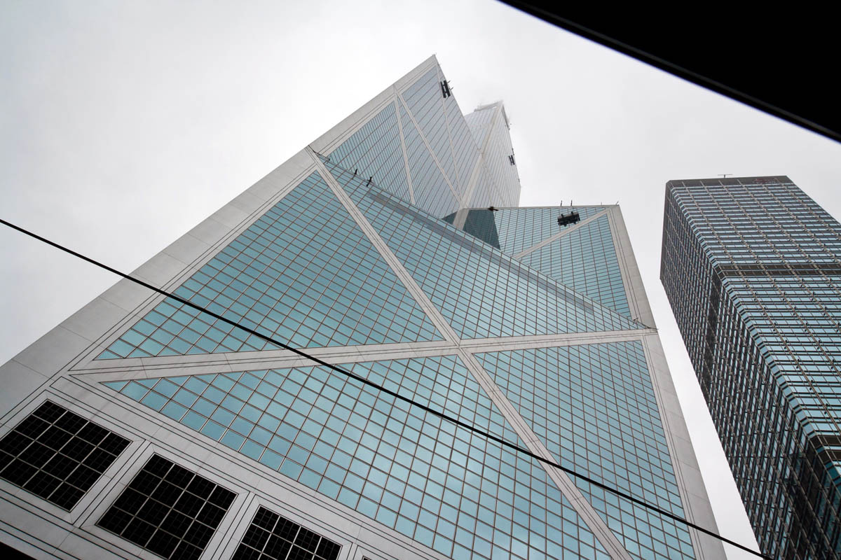 небоскребы, Гонконг