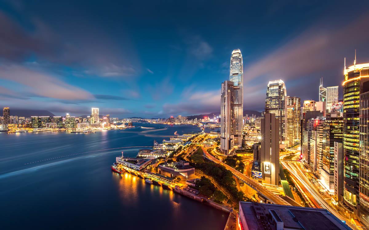 небоскребы Гонконга, Китай
