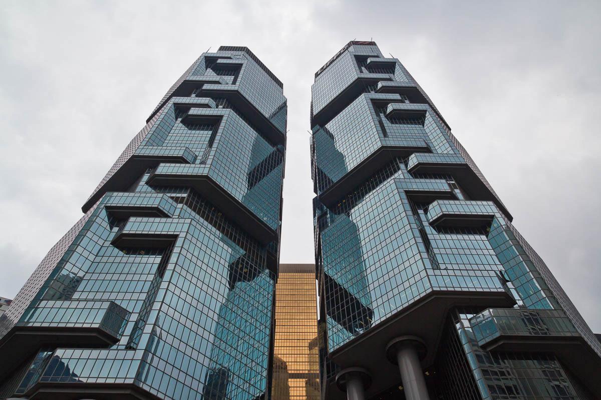 небоскребы в Гонконге