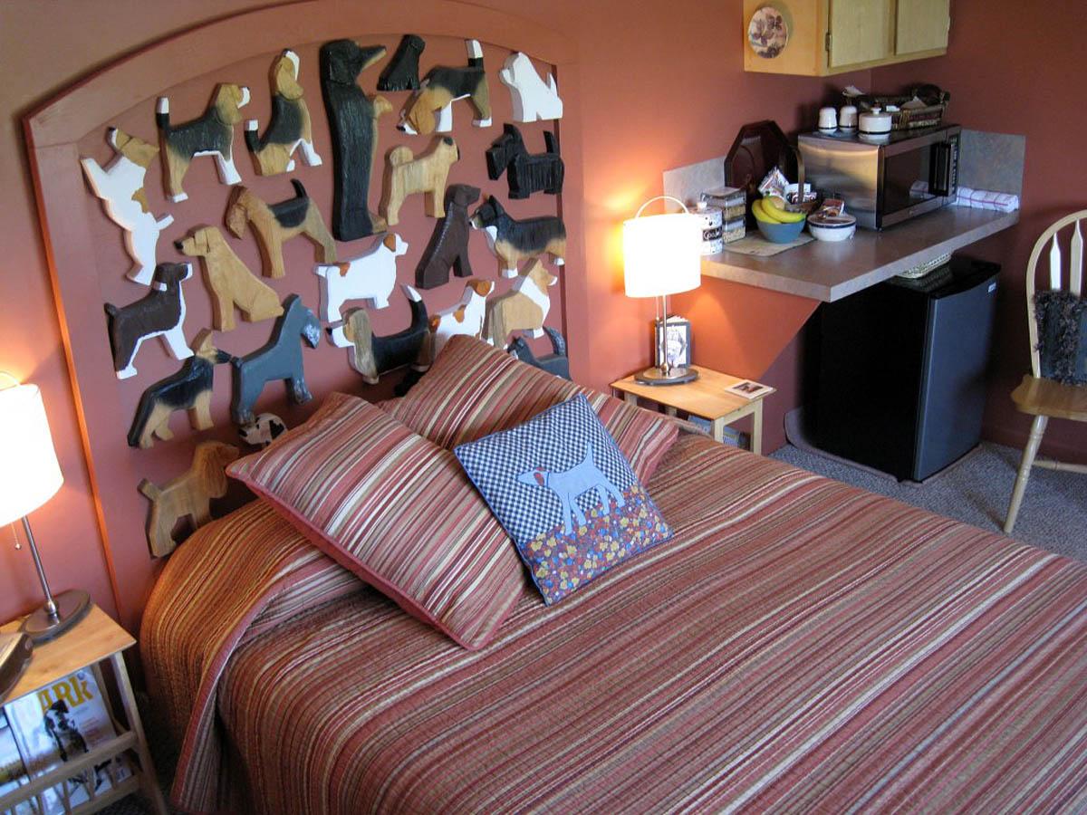 номер в отеле Dog Bark Park Inn