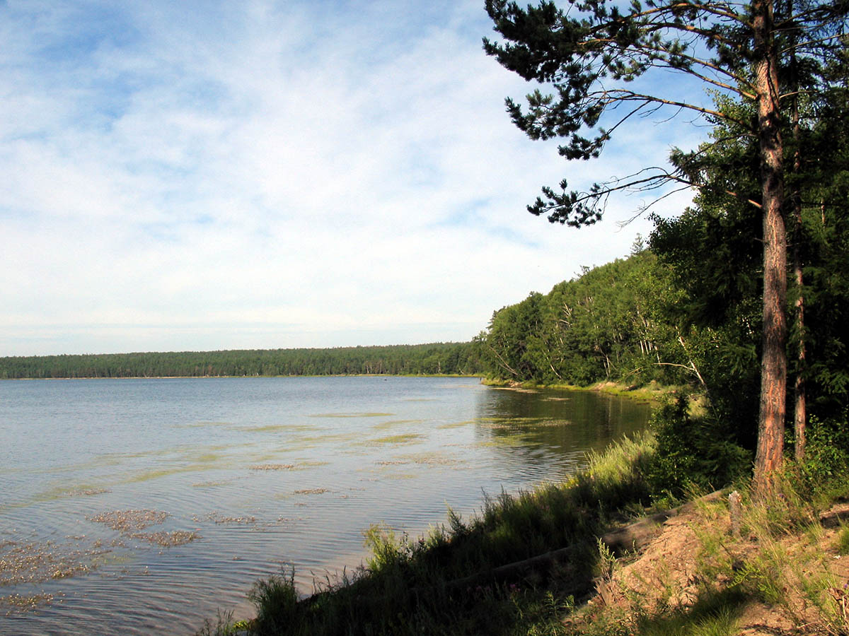 озеро Арей, Забайкалье, Россия