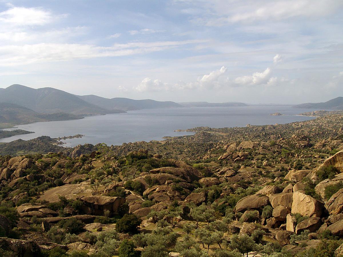 озеро Бафа в Турции