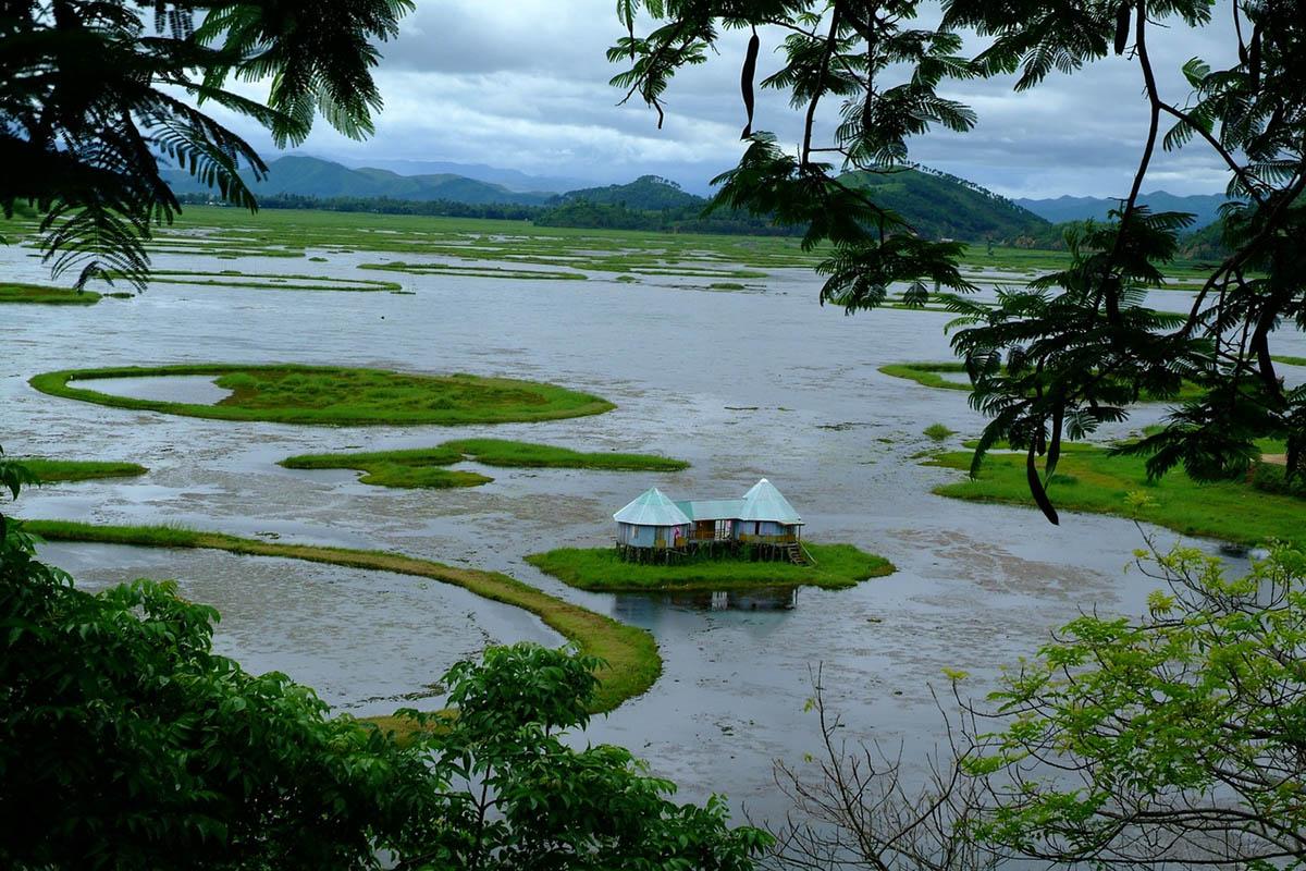 озеро Локтак, Индия