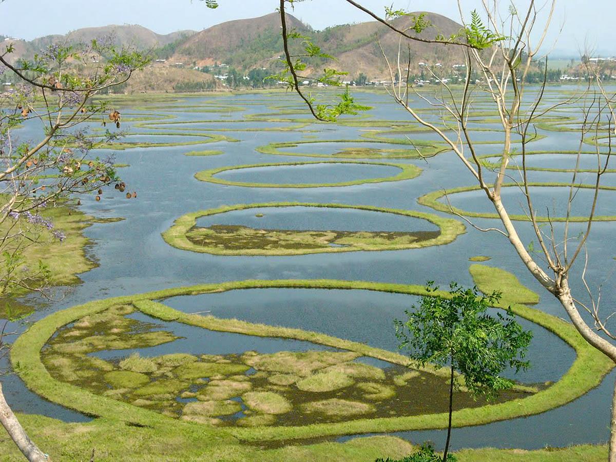 озеро Локтак в Индии
