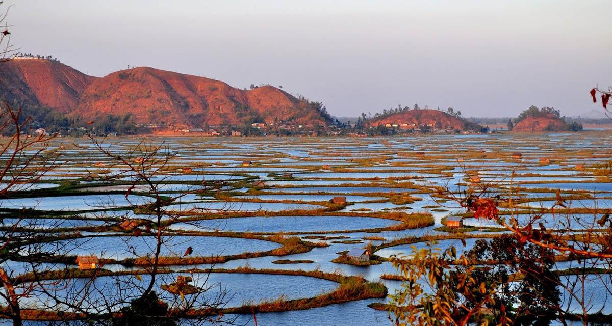 озеро Локтак
