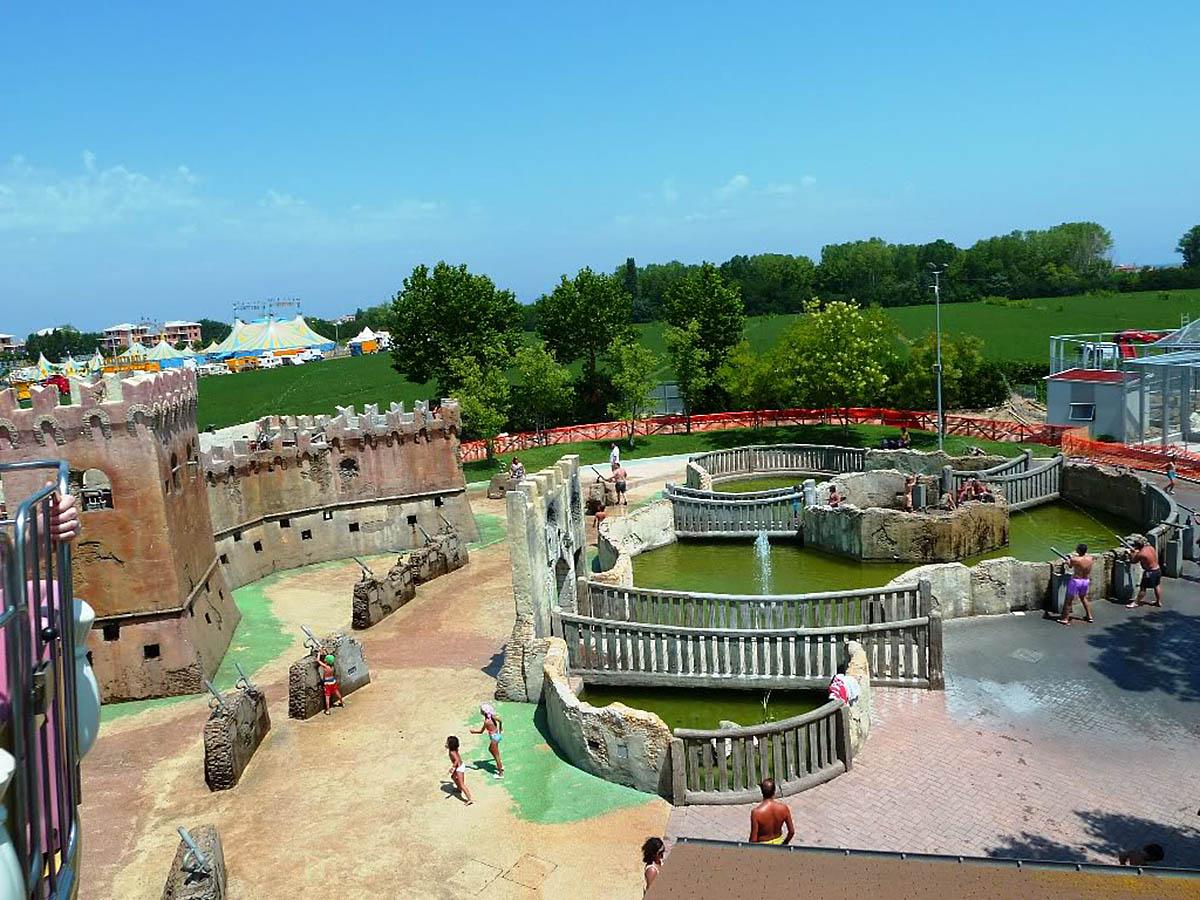 парк Италия в миниатюре, Римини, Италия