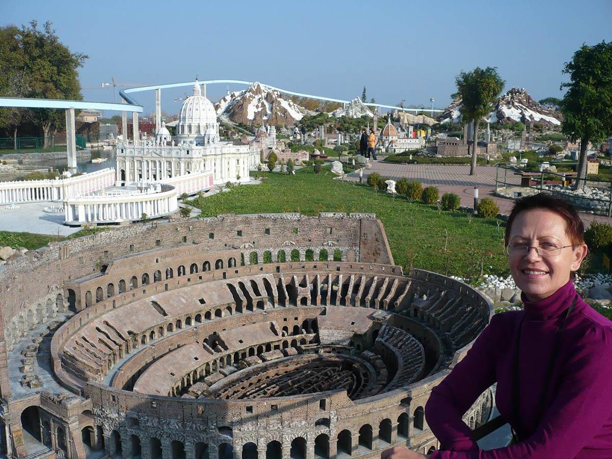 парк Италия в миниатюре, Римини