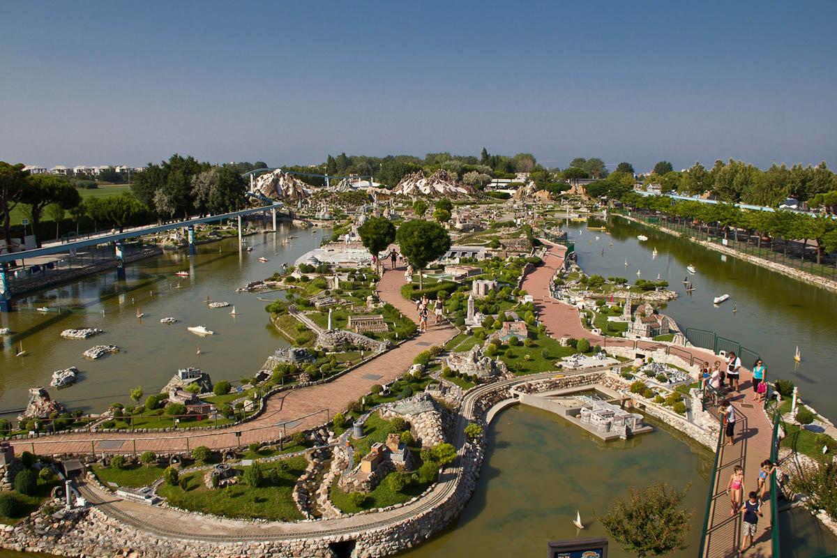 парк Италия в миниатюре в Римини, Италия