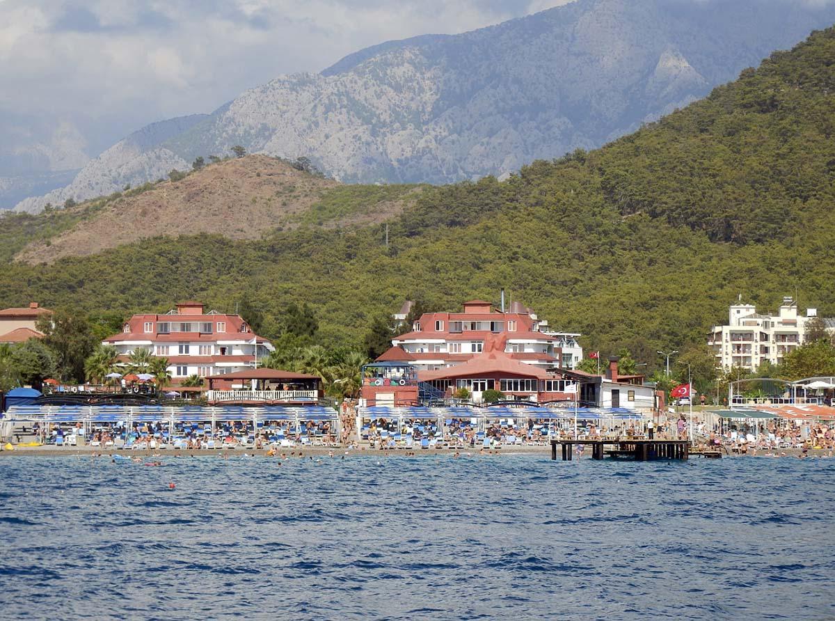поселок Кириш в Кемере, Турция