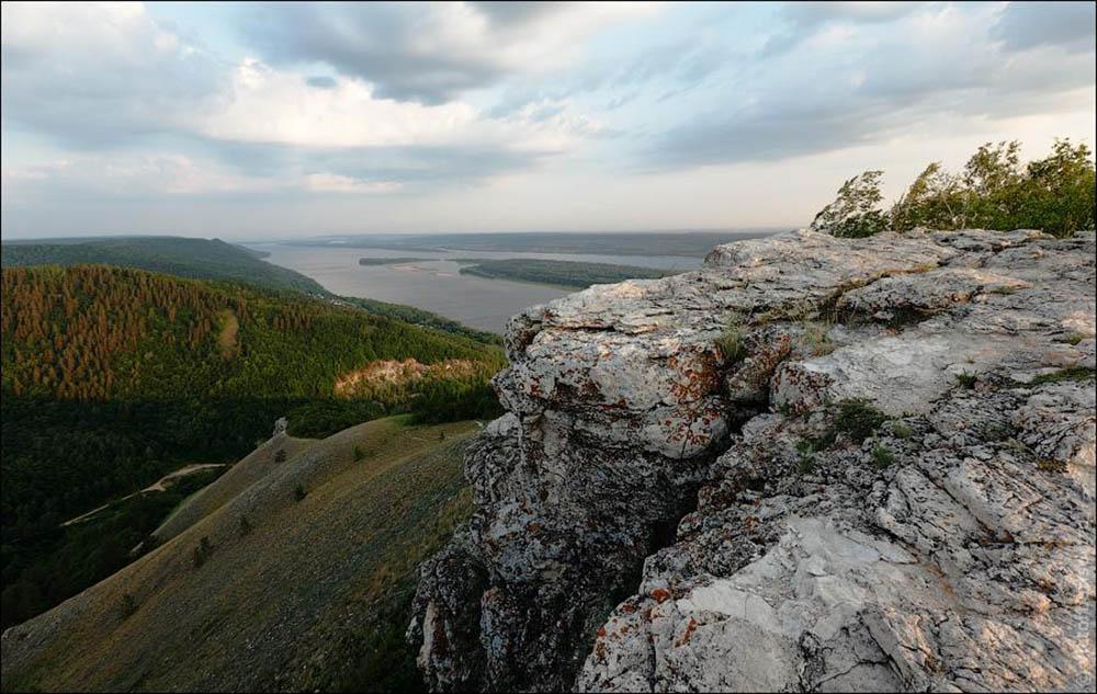 скала Белый Камень, Самарская Лука
