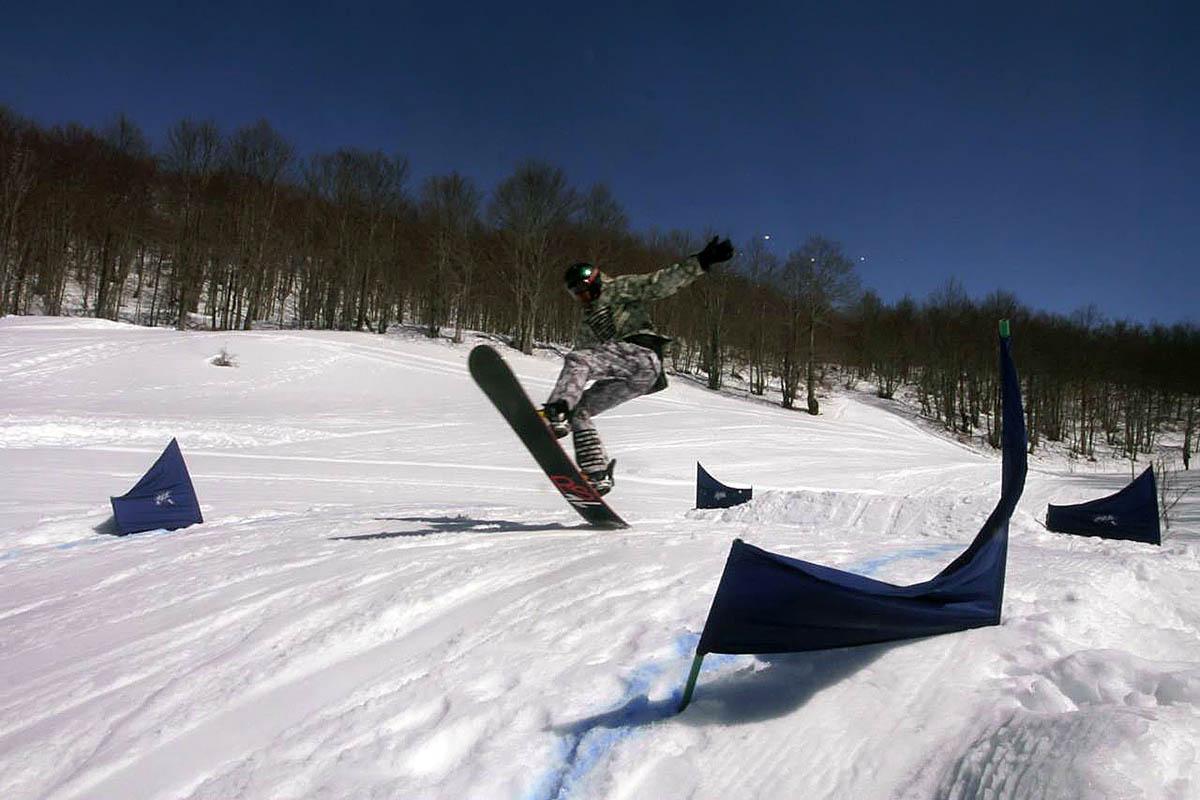 сноубординг в Вучье