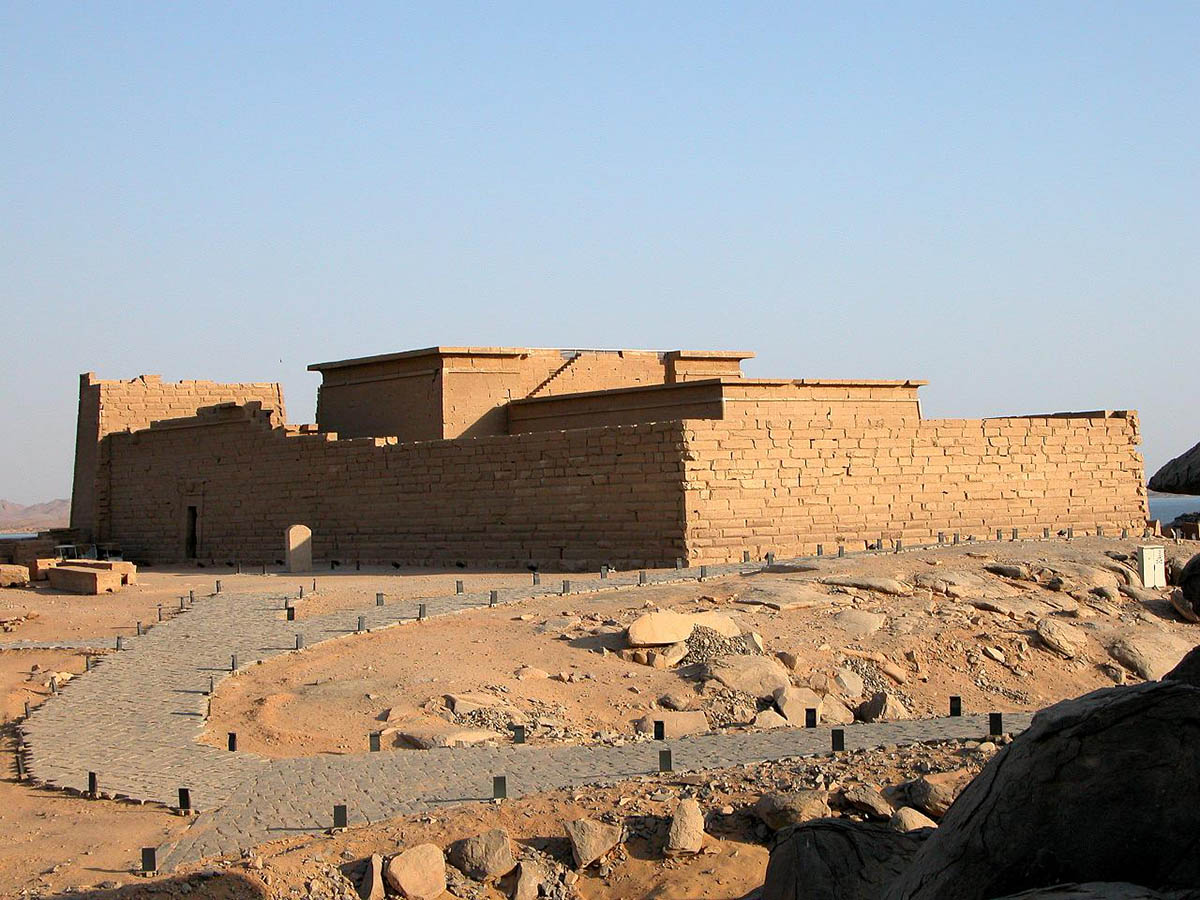 the Temple of Kalabsha