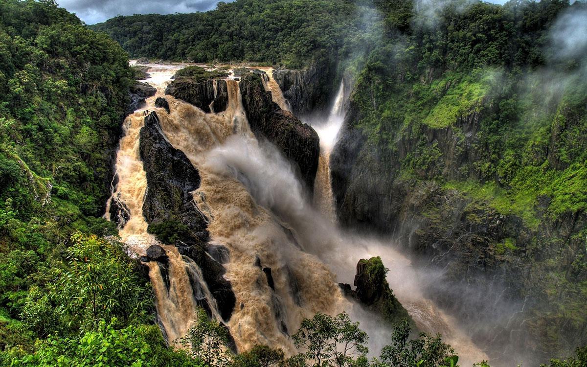 водопад Хукоу на реке Хуанхэ, Китай
