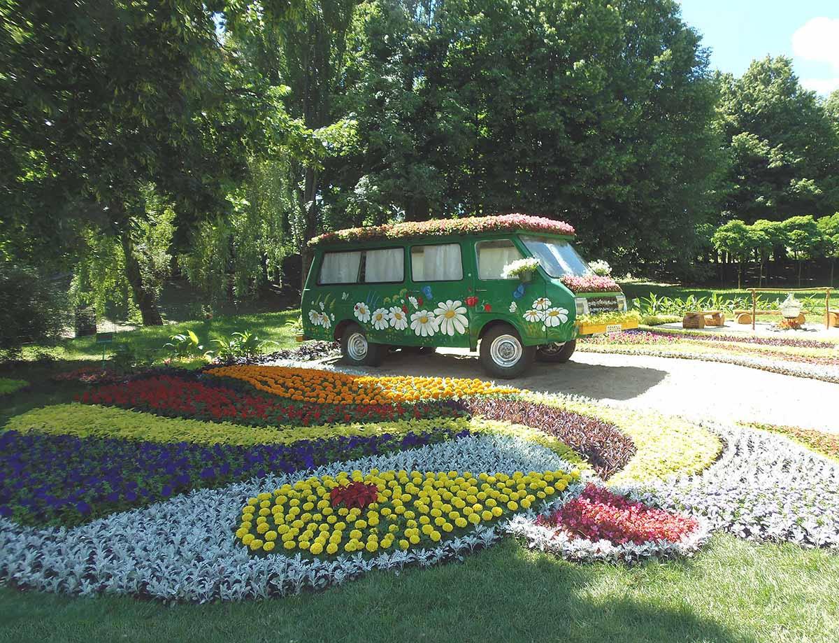 выставка цветов в Певческом поле