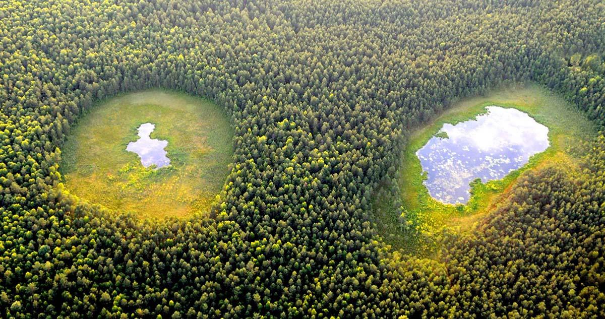 Аукштайтийский национальный парк в Литве