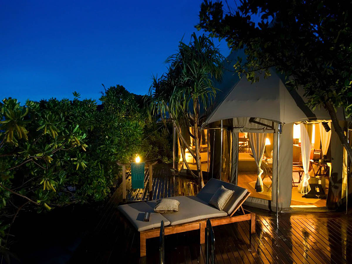 Banyan Tree Madivaru spa-hotel, Maldives