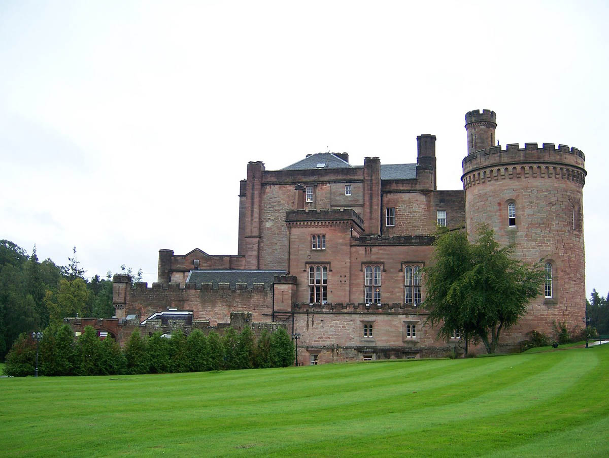 Dalhousie Castle-Hotel, Scotland