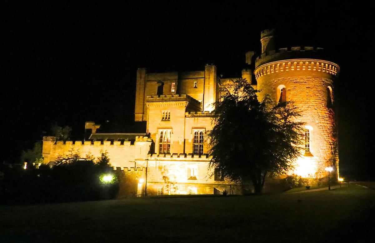 Dalhousie Castle-Hotel in Scotland