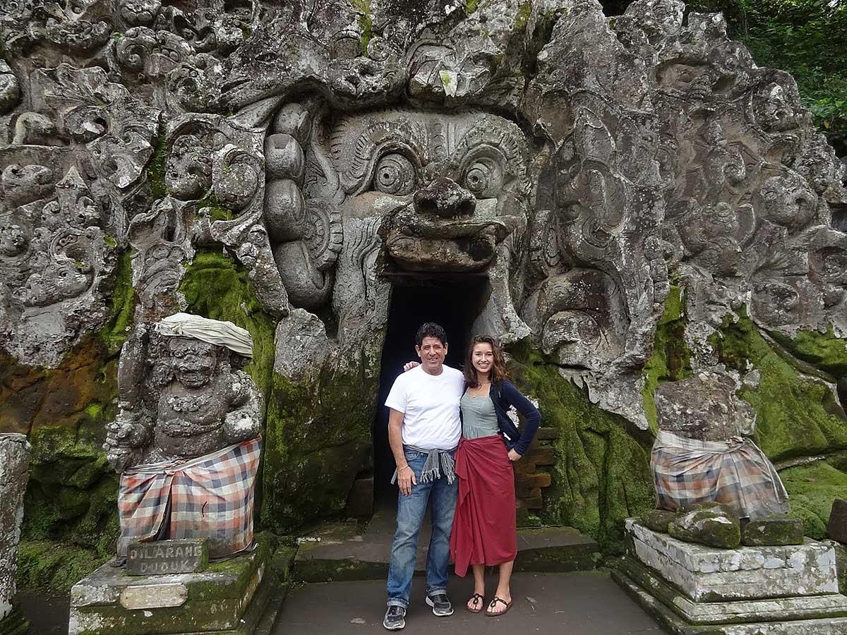 Goa Gadja, Bali, Indonesia