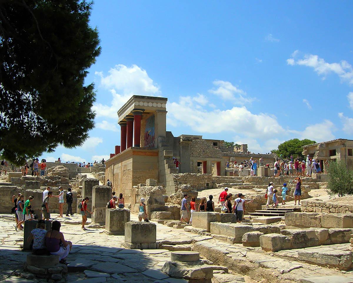 Кносский дворец, Греция
