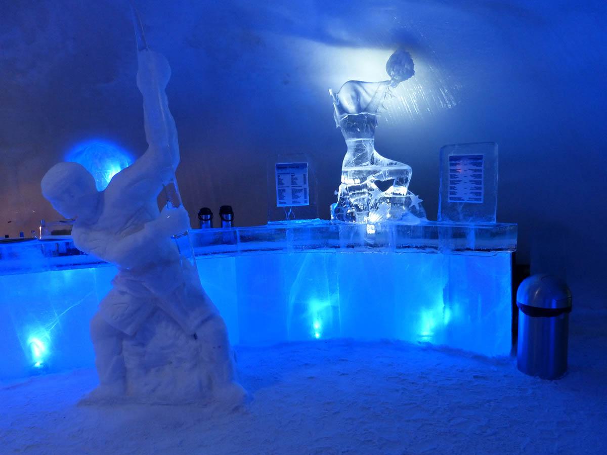 LumiLinna Snow Castle, bar
