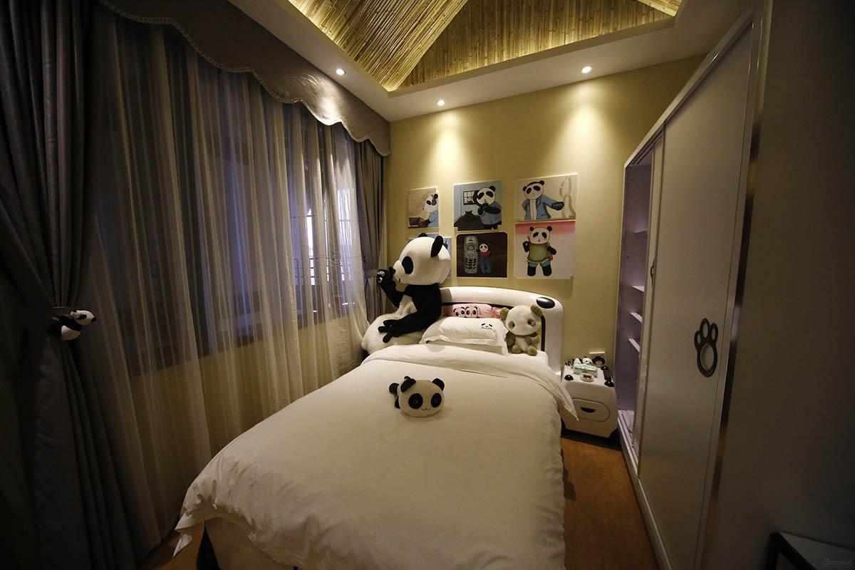 Панда-отель, Китай