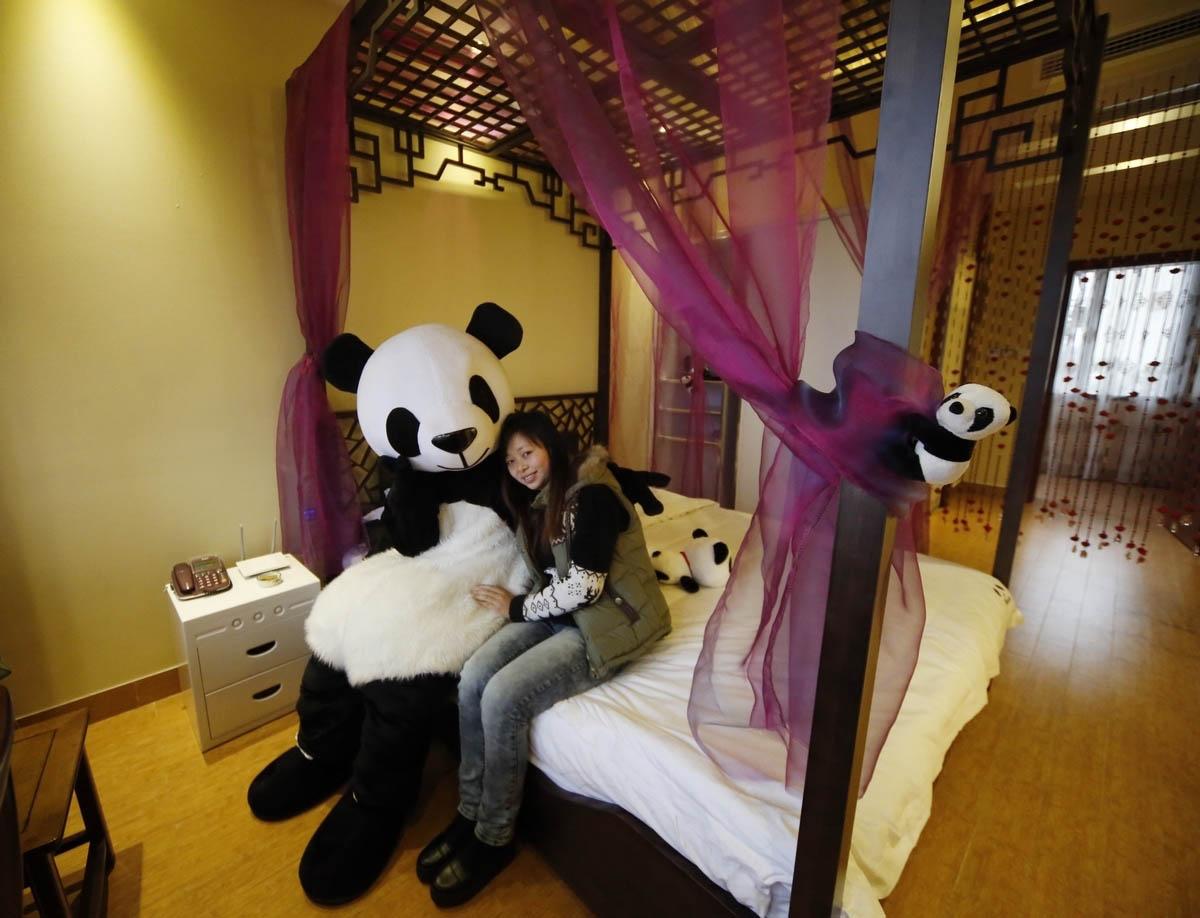 Панда-отель, Сычуань