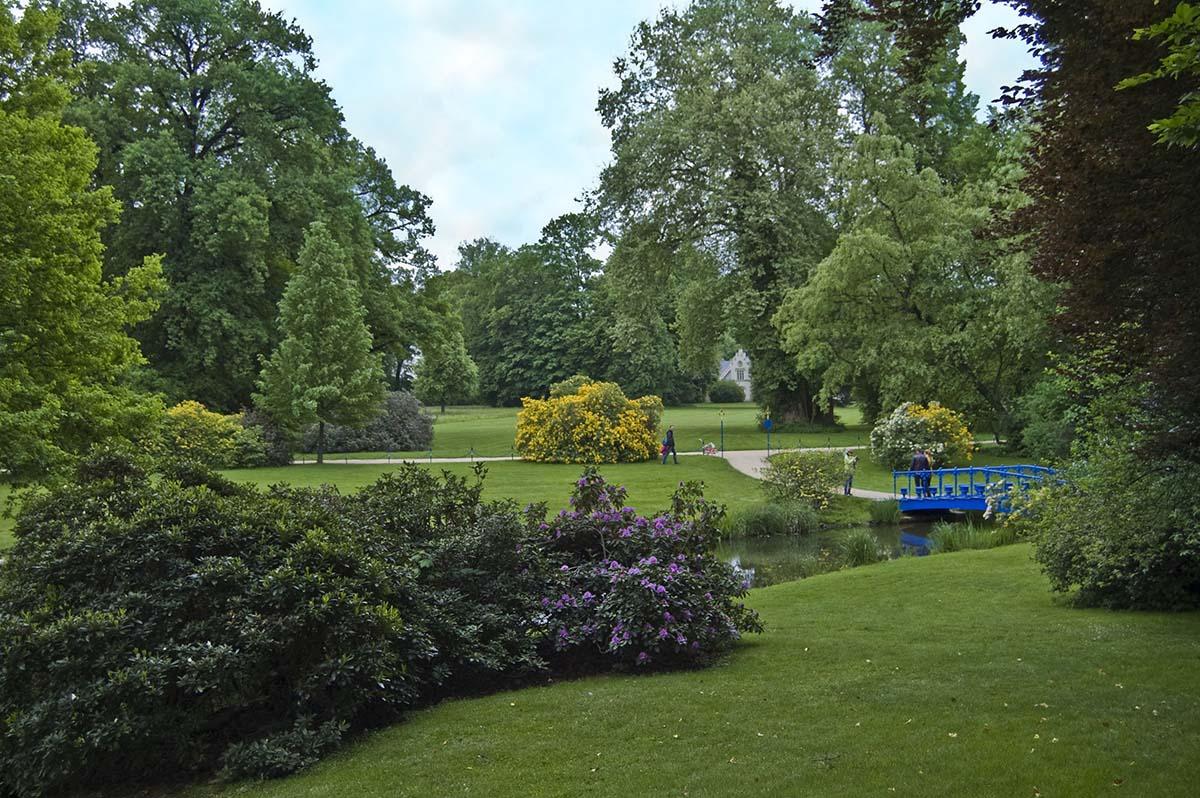 Парковый ансамбль князя Пюклера в Германии