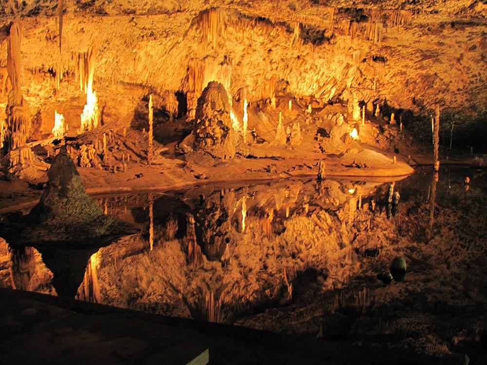 Пунквенные пещеры в Чехии