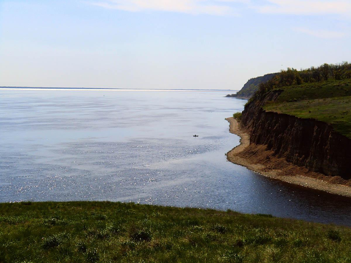 Столбичи, вид с берега