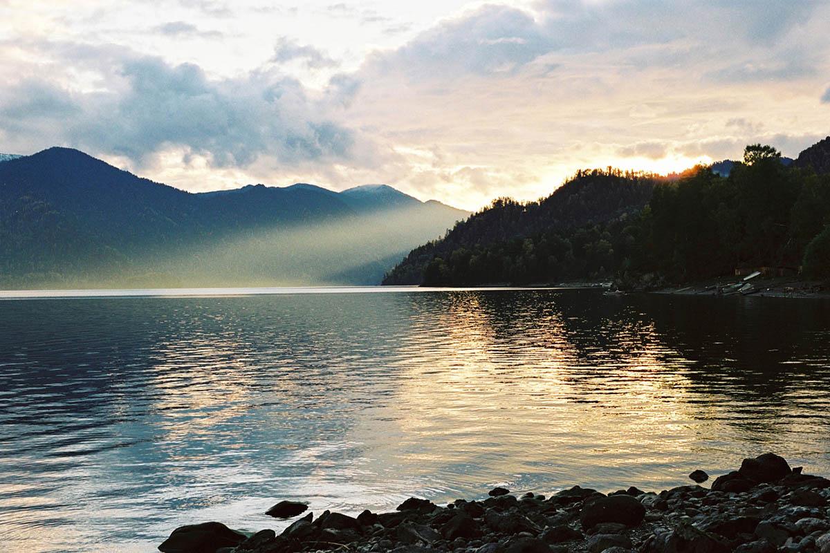 Телецкое озеро в Горном Алтае