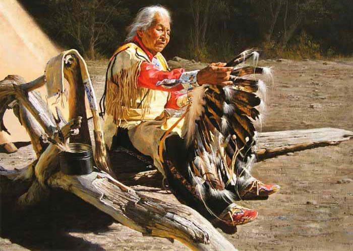 американский индеец
