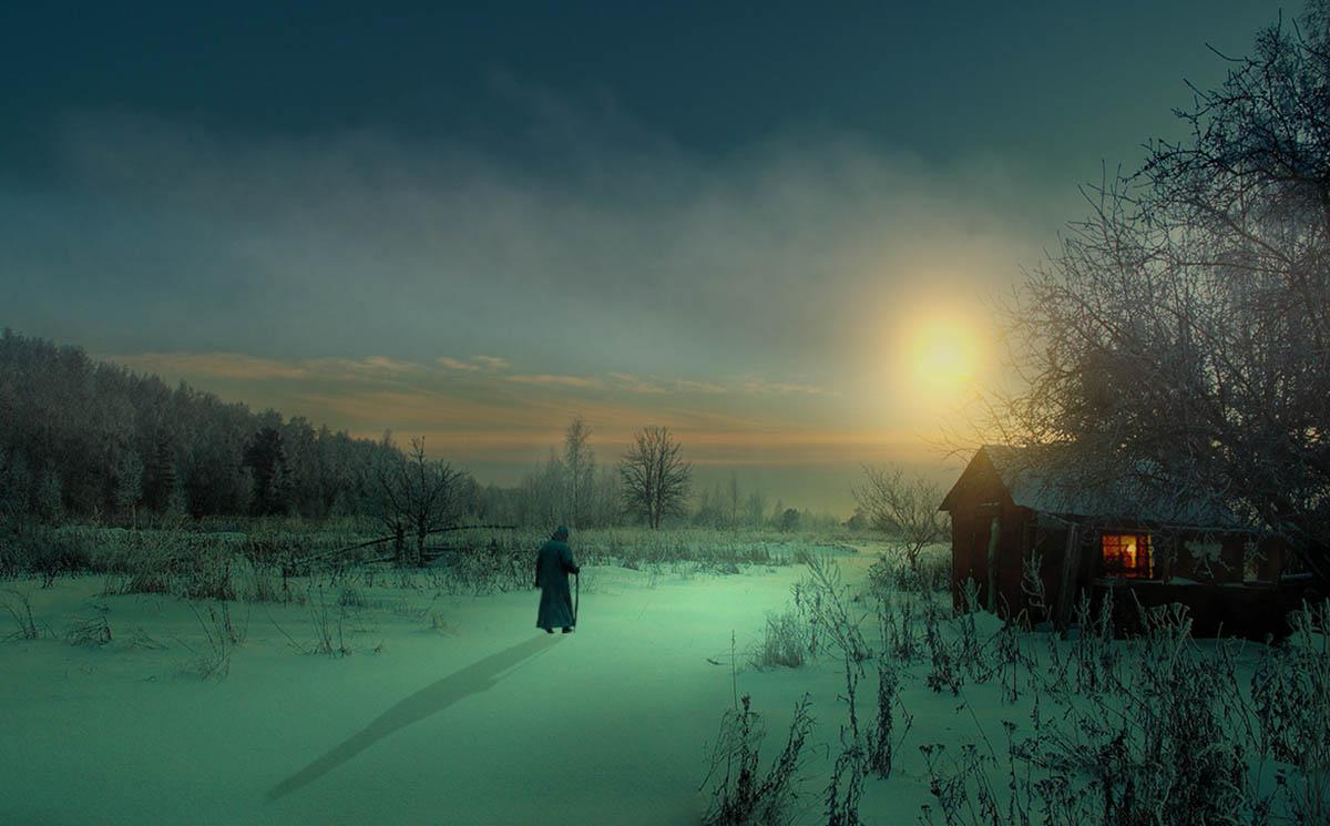 деревня Черный поток, Калужская область, Россия