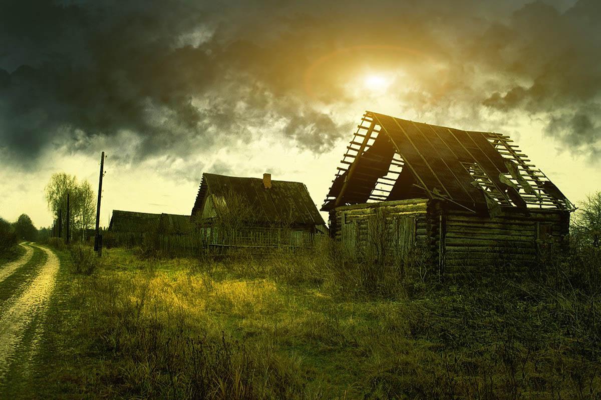 деревня Черный поток, Калужская область