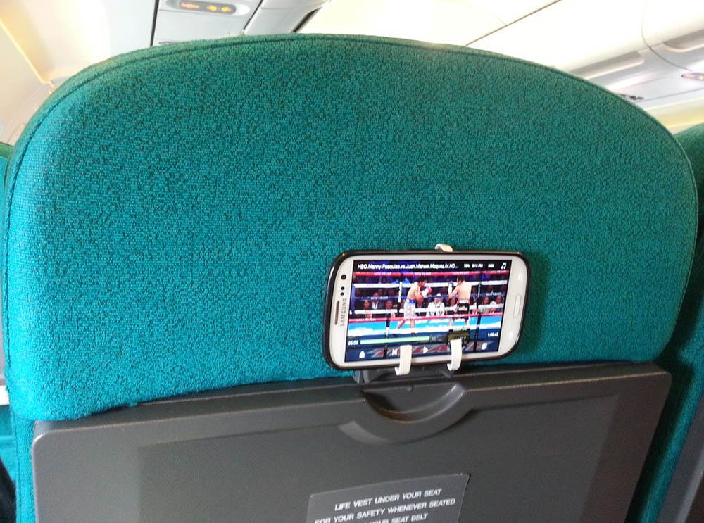 держатель для смартфона в самолете