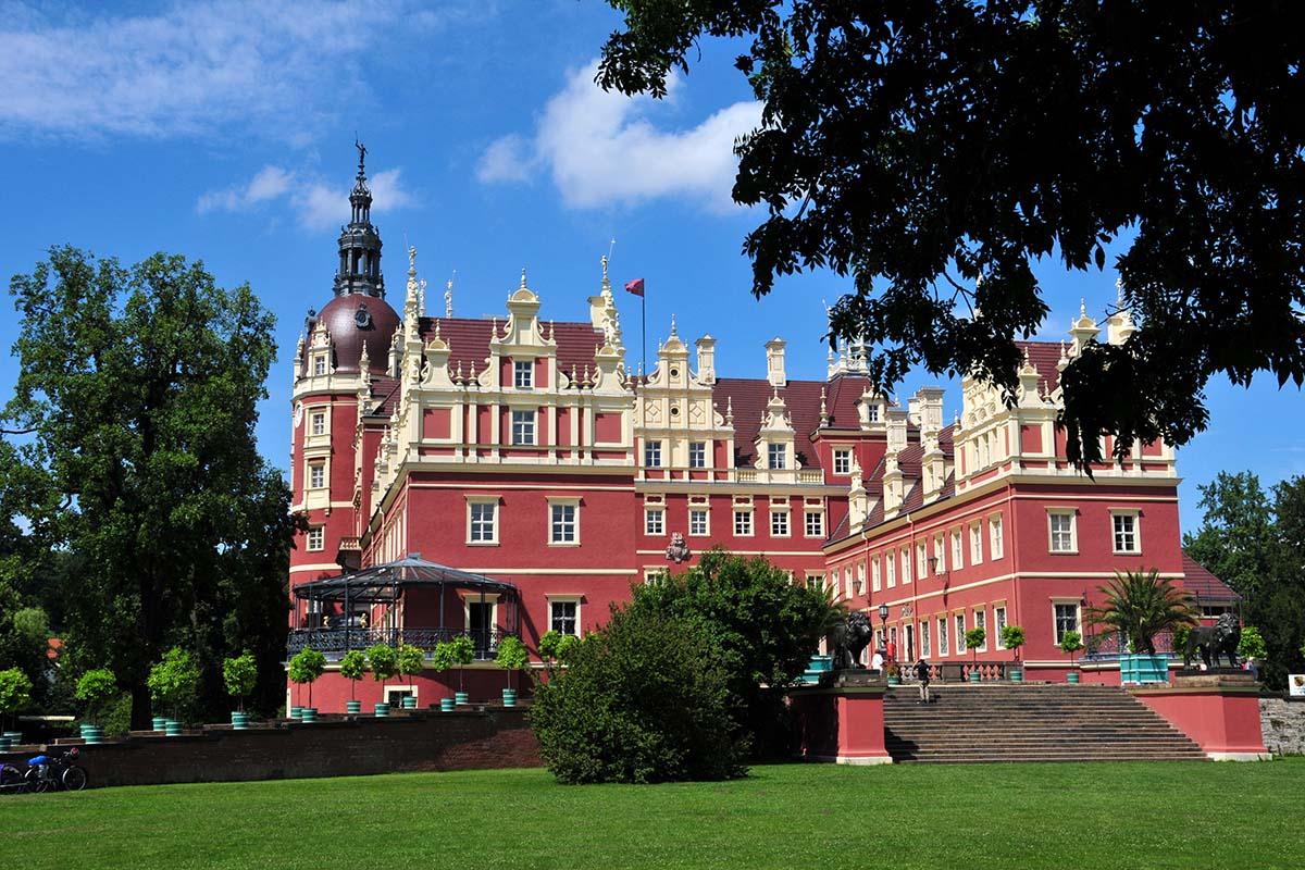 дворец Мускау, Германия