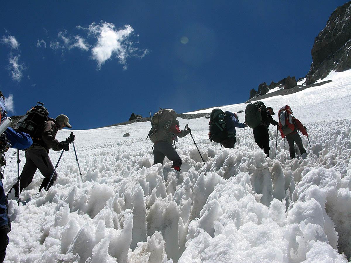 кальгаспоры в горах