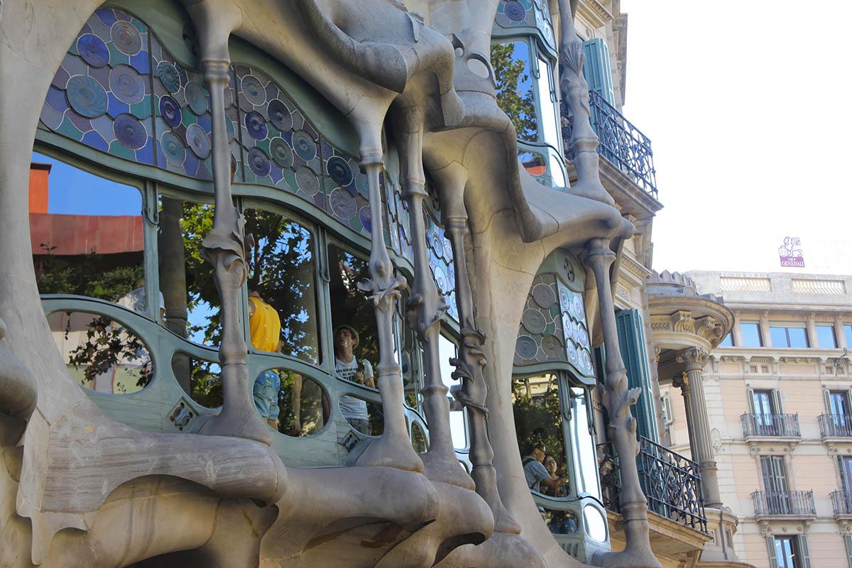 окна Дома Бальо