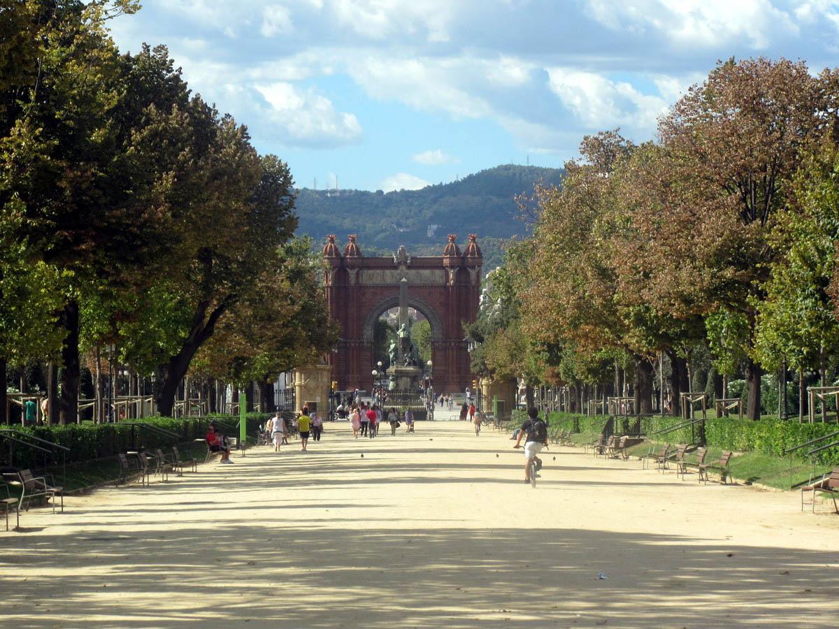 парк Сьютаделла, Барселона