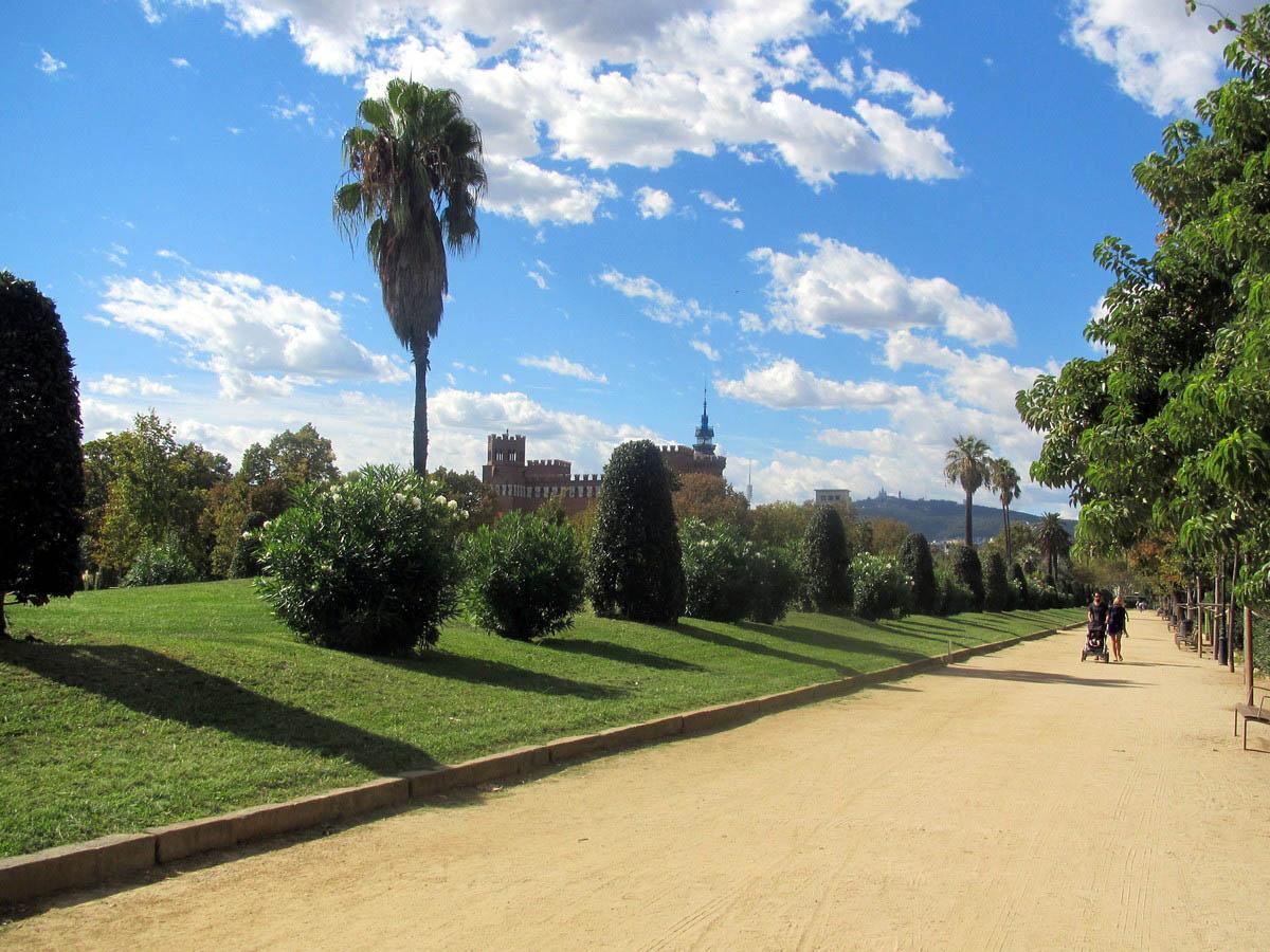 парк Сьютаделла, Испания