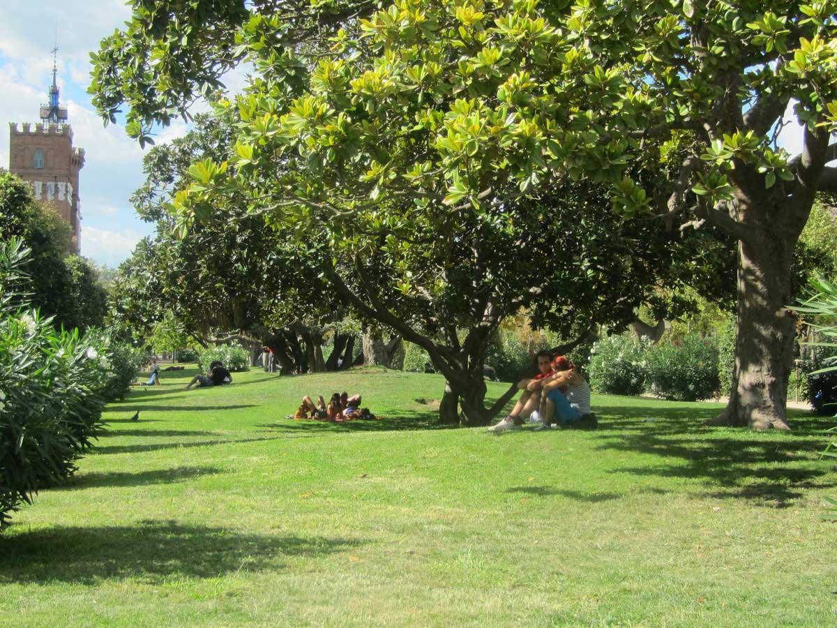 парк Сьютаделла в Барселоне, Испания